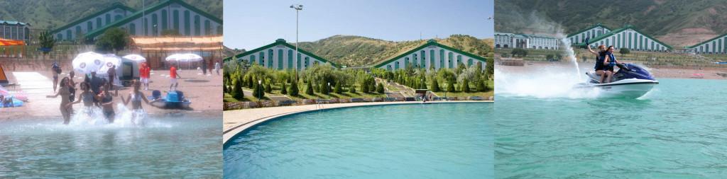 Зоны отдыха в горах Узбекистана 2014