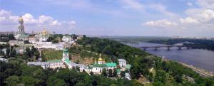 Лавра панорама Киев