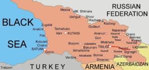Сигнаги на карте Грузии