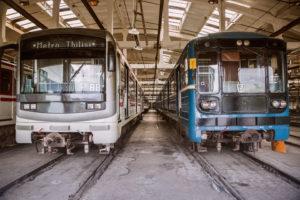 Информация о поездах Тбилисского метро